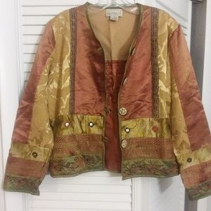 Flashback jacket patchwork